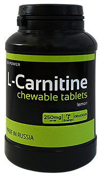 Сжигатель жира L-карнитин XXI Power 90 жевательных таблеток
