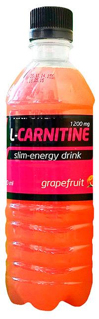 Спортивный напиток L-карнитин XXI Power  500 мл - Грейпфрут, без газа