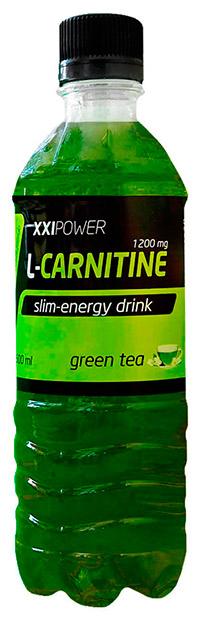 Спортивный напиток L-карнитин XXI Power 500 мл - Зеленый чай с жасмином, без газа