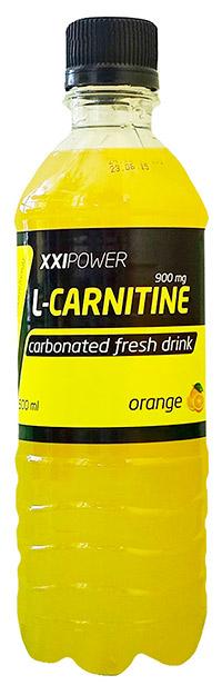 Спортивный напиток L-карнитин XXI Power газированный 500 мл - Апельсин