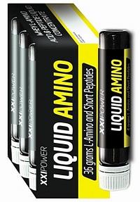 Жидкие Аминокислоты XXI Power 9 флаконов по 25 мл