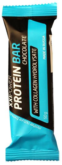 Протеиновый батончик Protein Bar XXI Power с коллагеном 50 грамм